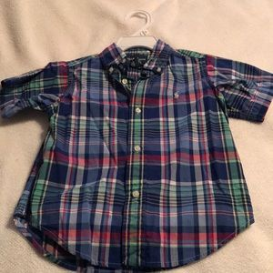 Boys Ralph Lauren Button Up Size 2T